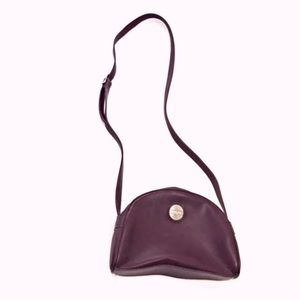 Vintage Perry Ellis Crossbody Bag Plum Purple